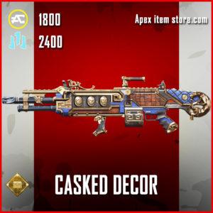 Casked Decor Spitfire legendary apex legends skin
