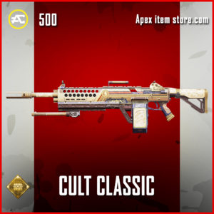 Cult Classic Devotion skin rare apex legends item