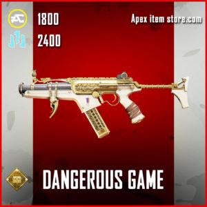 Dangerous Game R-99 skin legendary apex legends item