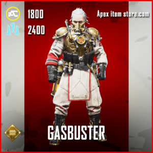 Gasbuster Caustic skin legendary apex legends item