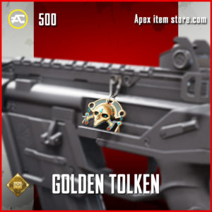 Golden Tolken charm epic apex legends item