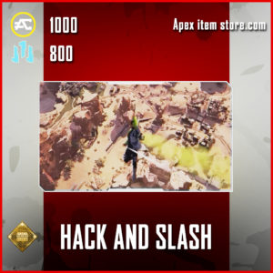 Hack and slash Crypto skydive emote epic apex legends item