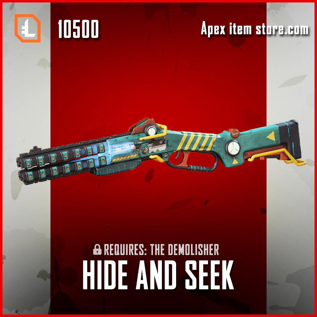 Hide and Seek Peacekeeper exclusive apex legends skin