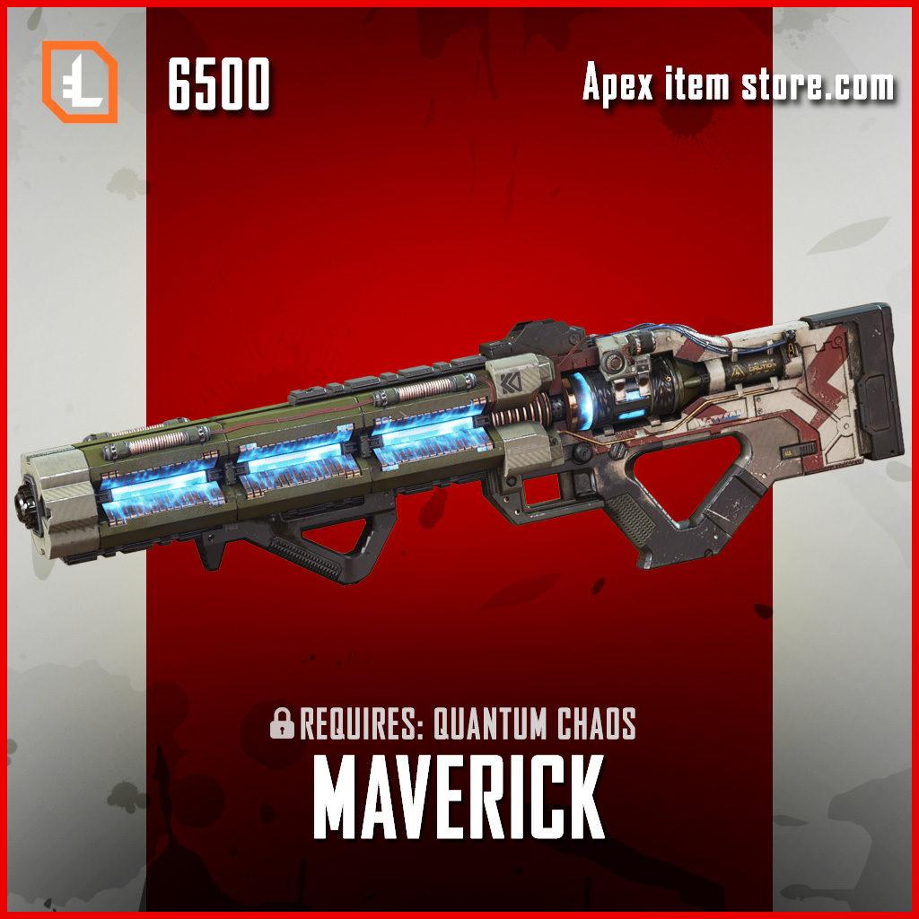 Maverick Legendary exclusive havoc apex legends skin