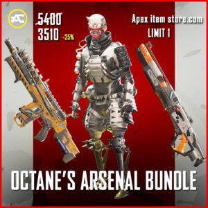 Octane's Arsenal Bundle apex legends legendary pack