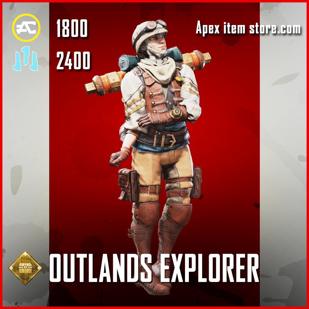 Outlands Explorer Wattson legendary apex legends item