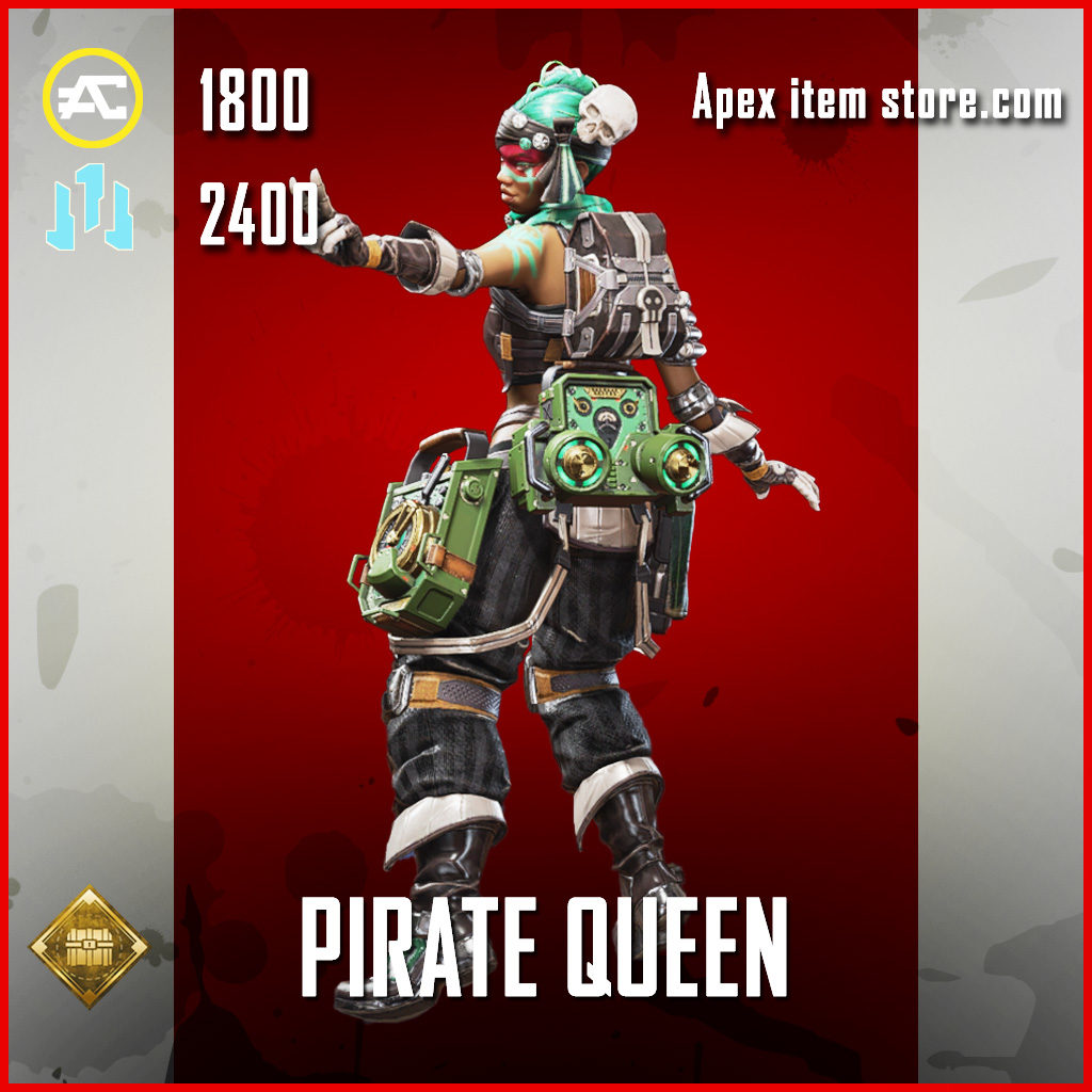 Pirate Queen lifeline skin apex legends legndary item