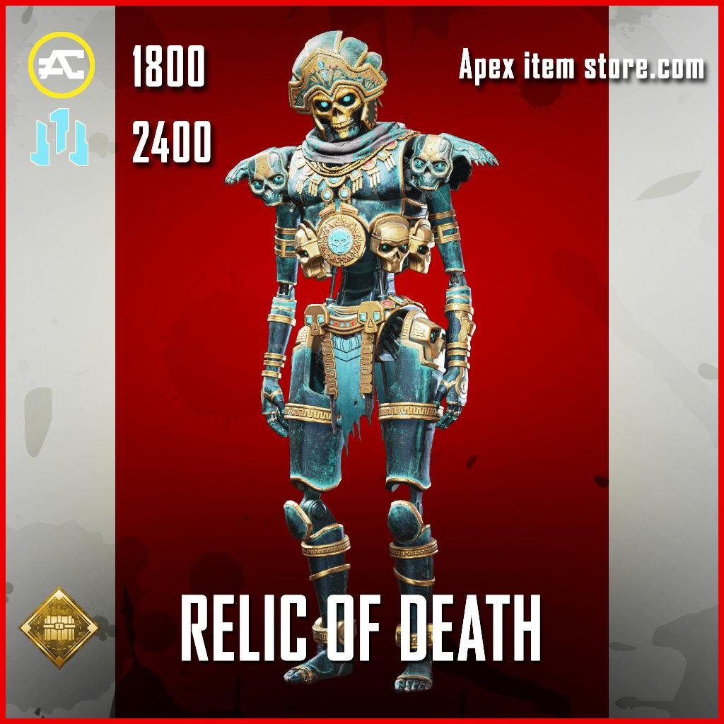 Relic of Death Revenant skin legendary apex legends item