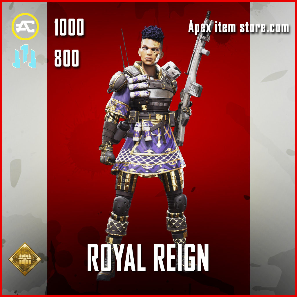 Royal Reign Bangalore skin epic apex legends item