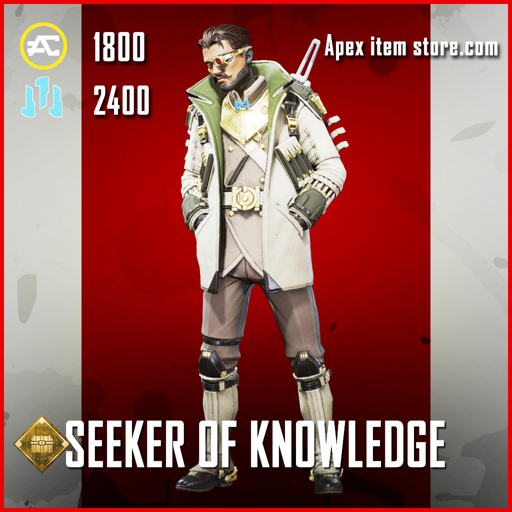 Seeker of Knowledge crypto legendary apex legends skin