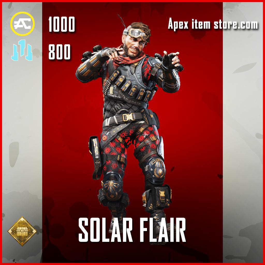 Solar Flair Mirage skin epic epic apex legends item
