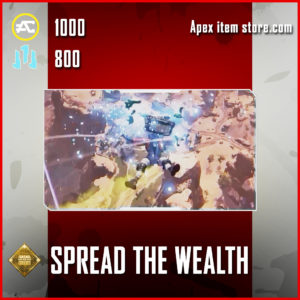 Spread the Wealth Wattson skydive emote epic apex legends item