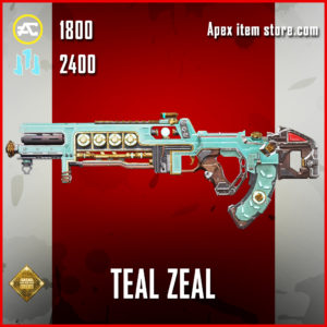 Teal Zeal Flatline skin legendary apex legends item