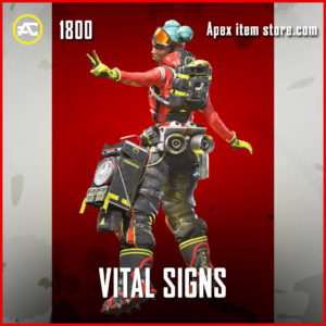 Vital Signs Lifeline apex legends skin legendary