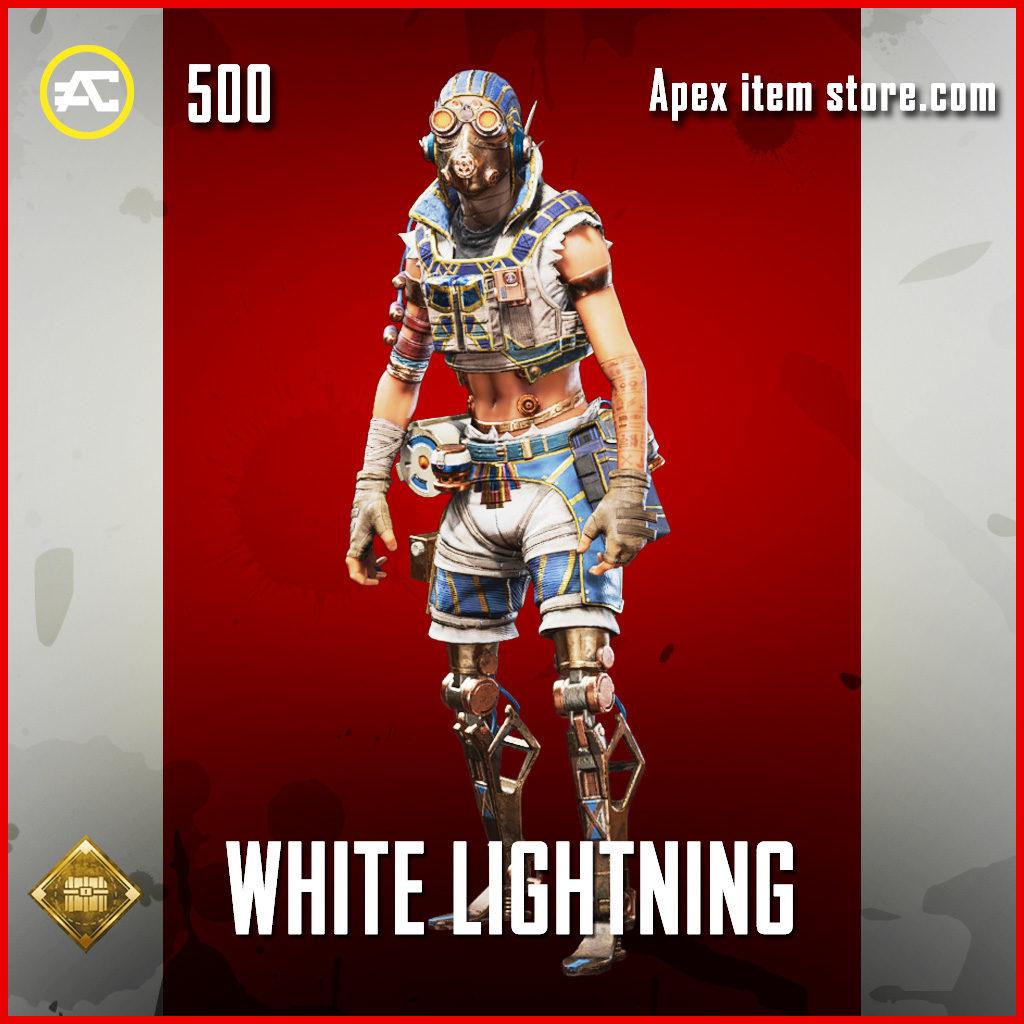 White Lightning Octane skin rare apex legends item