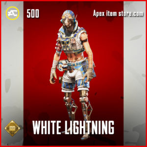 White Lightning Octane skin rare apex legends item