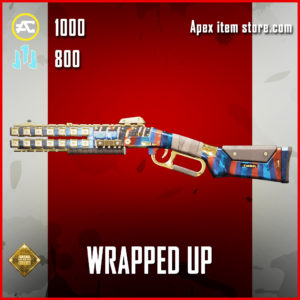 Wrapped Up Peacekeeper apex legends skin