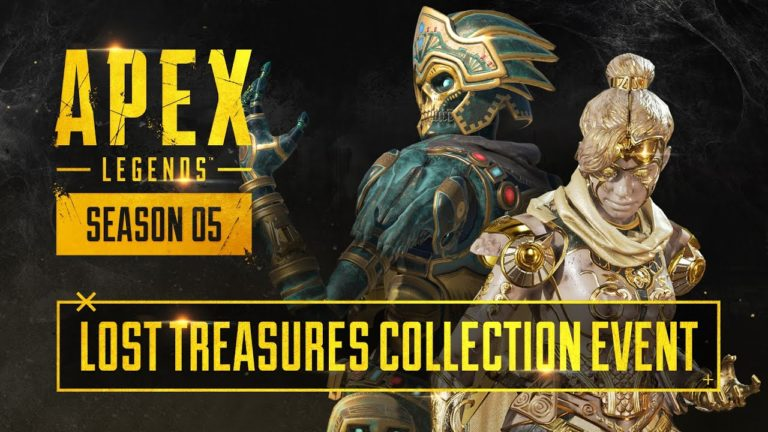 All Lost Treasures Collection Event Skins