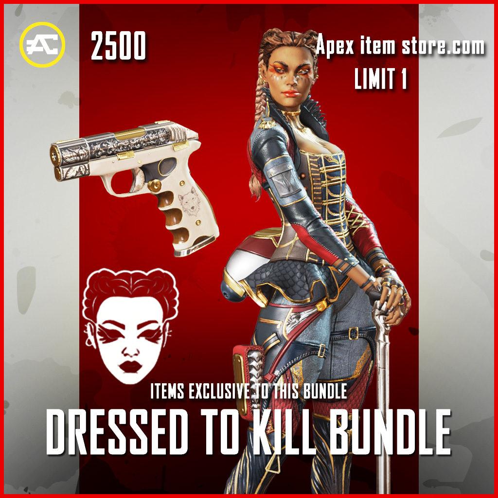 Dressed to Kill Bundle apex legends summer of plunder sale items