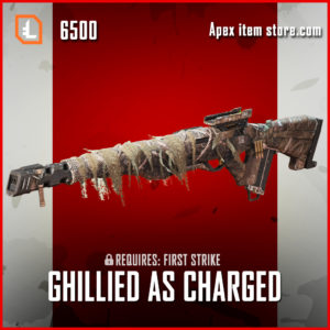 Ghillied As Charged legendary skin exclusive triple take apex legends item