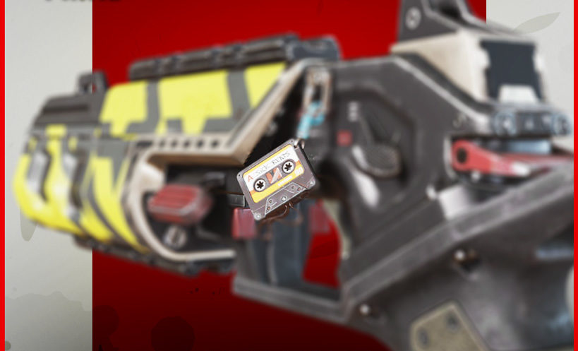 Mix Tape charm apex legends twitch prime item
