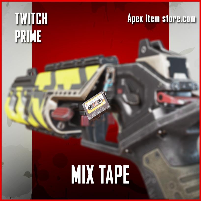 Mix Tape charm apex legends twitch prime item
