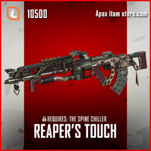 Reaper's Touch flatline skin legendary apex legends exclusive item