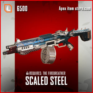 Scaled Steel EVA-8 AUTO skin exclusive apex legends item