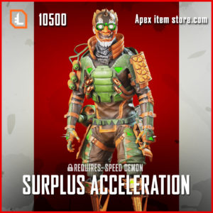 Surplus Acceleration octane apex legends skin
