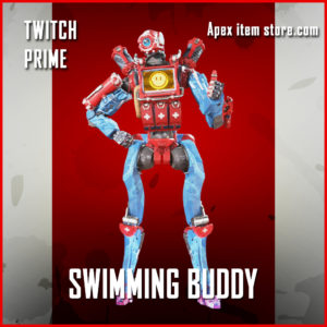 Swimming Buddy pathfinder apex legends twitch prime skin