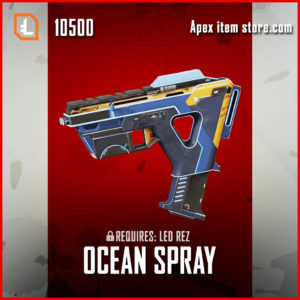 Ocean spray alternator skin exclusive apex legends item