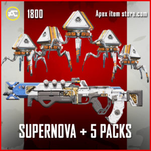 Super Nova + Plus 5 Bonus Packs apex legends bundle