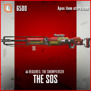 The SOS legendary apex legends kraber skin