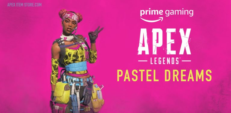 "Claim Exclusive Apex Legends Lifeline Skin ""Pastel Dreams"" Now With Twitch Prime"