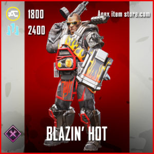 Blazin' Hot Gibraltar skin legendary Apex Legends Item