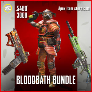 Bloodbath Bundle Apex Legends Pack