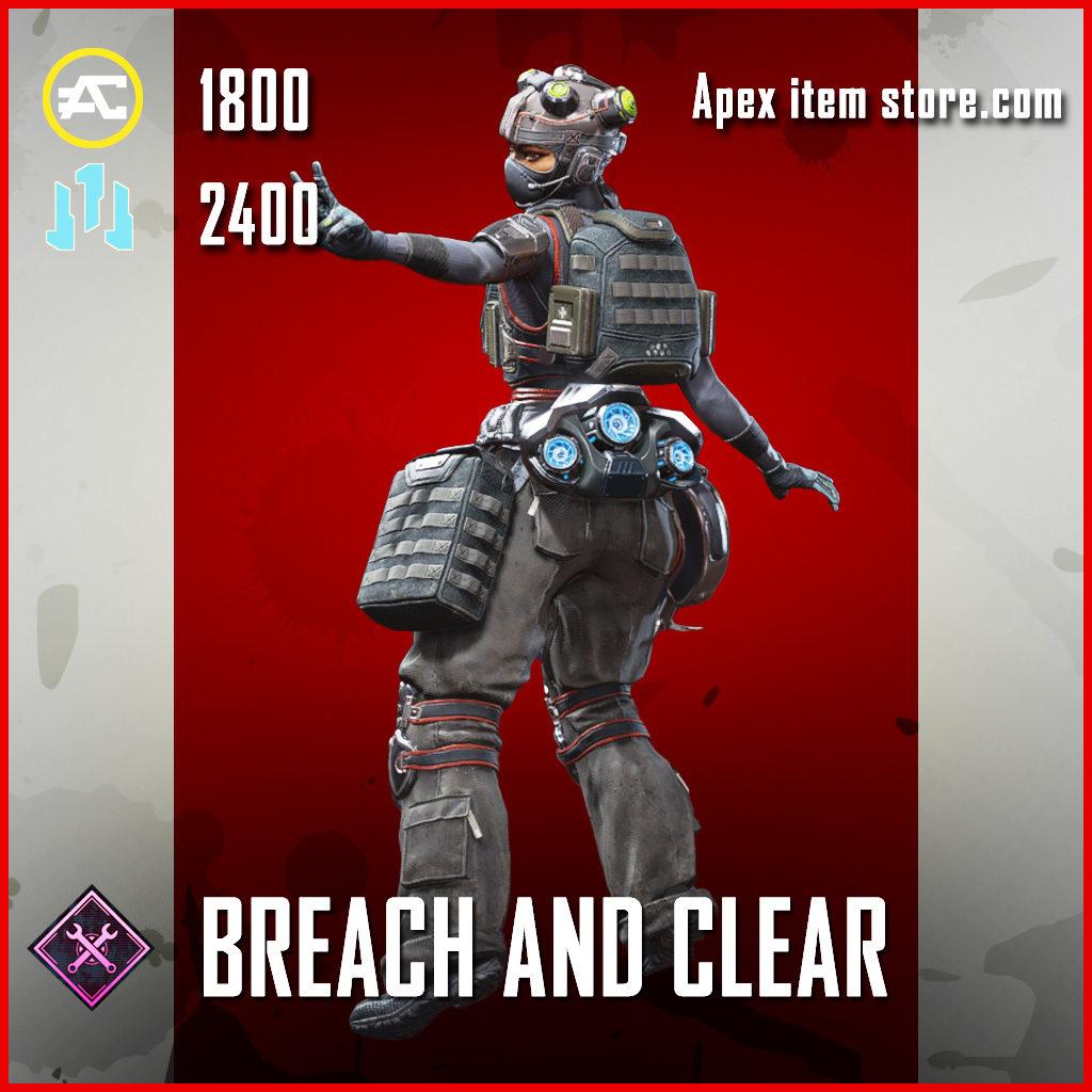 Breach and Clear Lifeline skin legendary Apex Legends Item