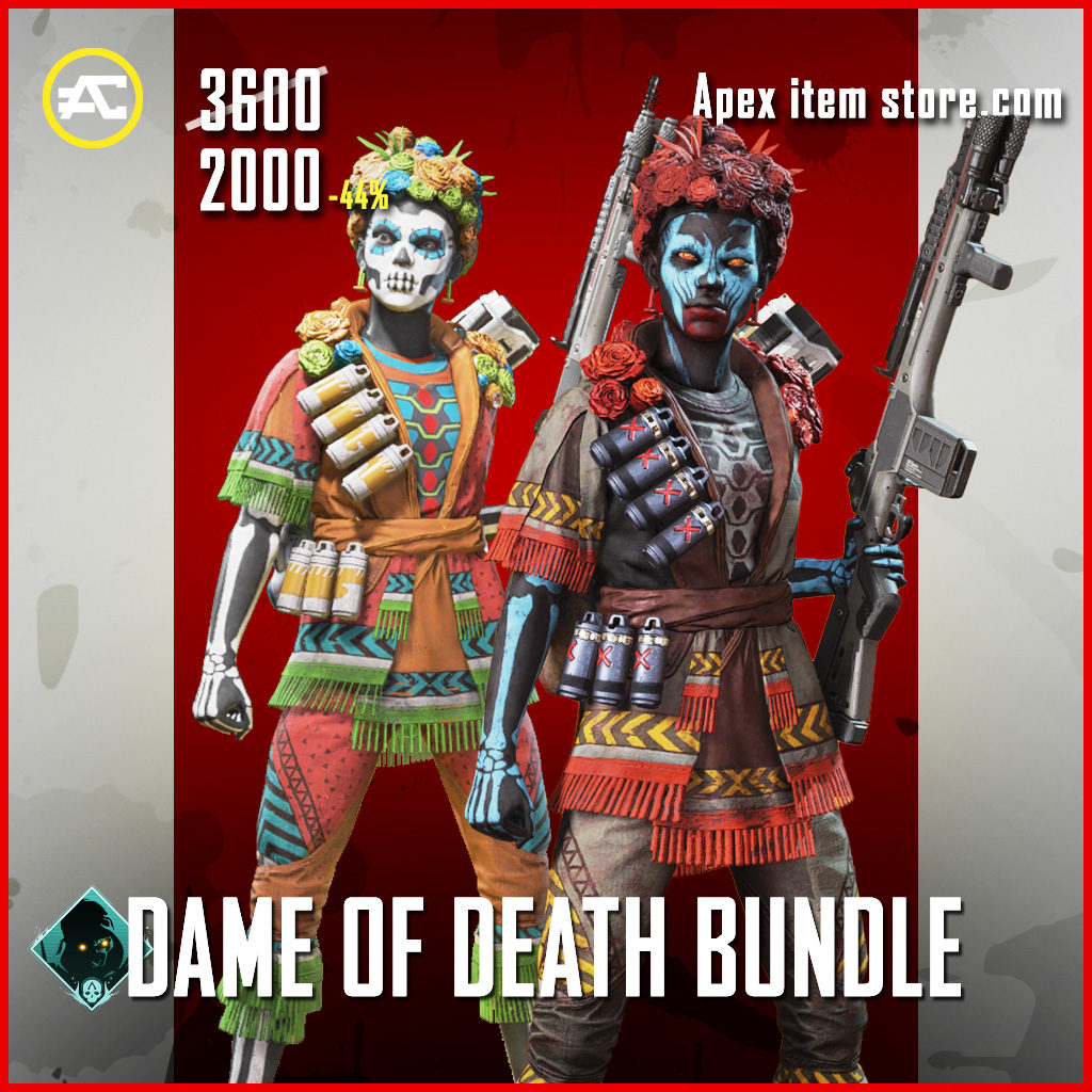 Dame of Death bundle apex legends skin pack Fight or Fright 2020