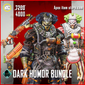 Dark Humor bundle apex legends skin pack Fight or Fright 2020
