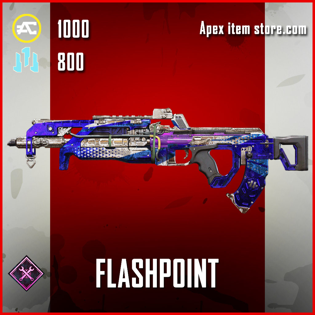 Flashpoint Flatline Skin Epic apex legends item