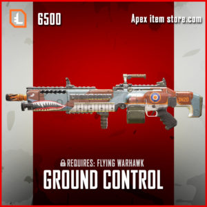 Ground Control Legendary Spitfire apex legends skin