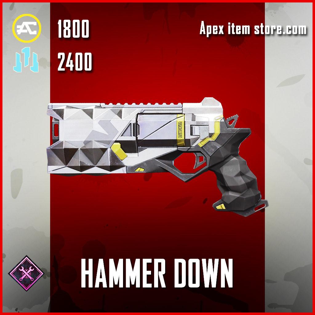 Hammer Down Wingman skin legendary apex legends item