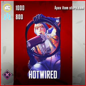 Hotwired Wattson Banner apex legends item