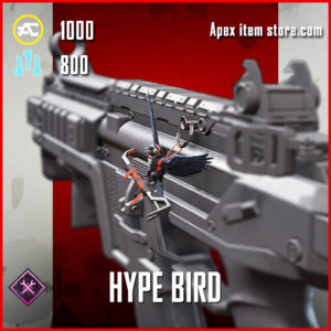 Hype Bird charm apex legends item