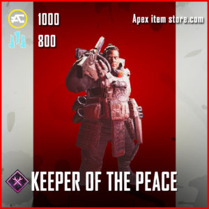 Keeper of the peace Gibraltar Banner Pose Apex Legends Item
