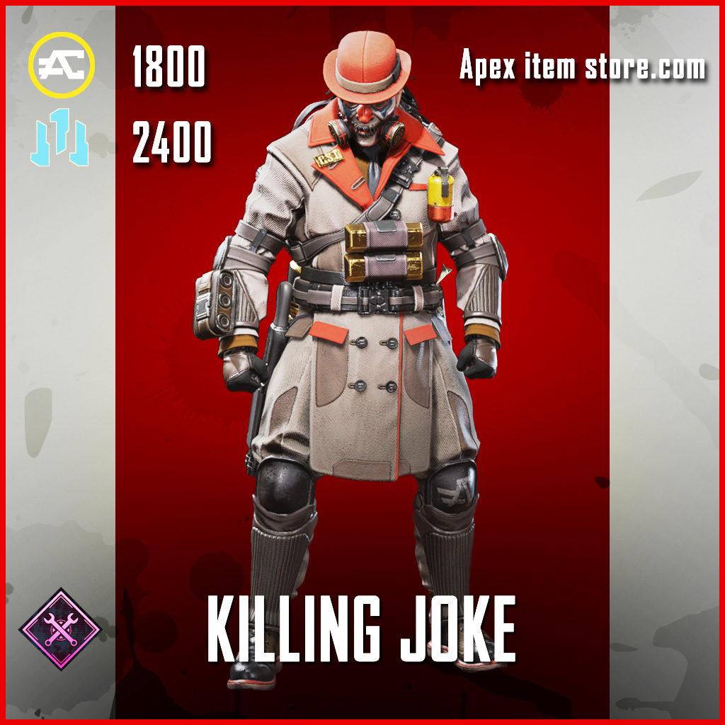 Killing Joke Caustic Skin legendary Apex Legends Item