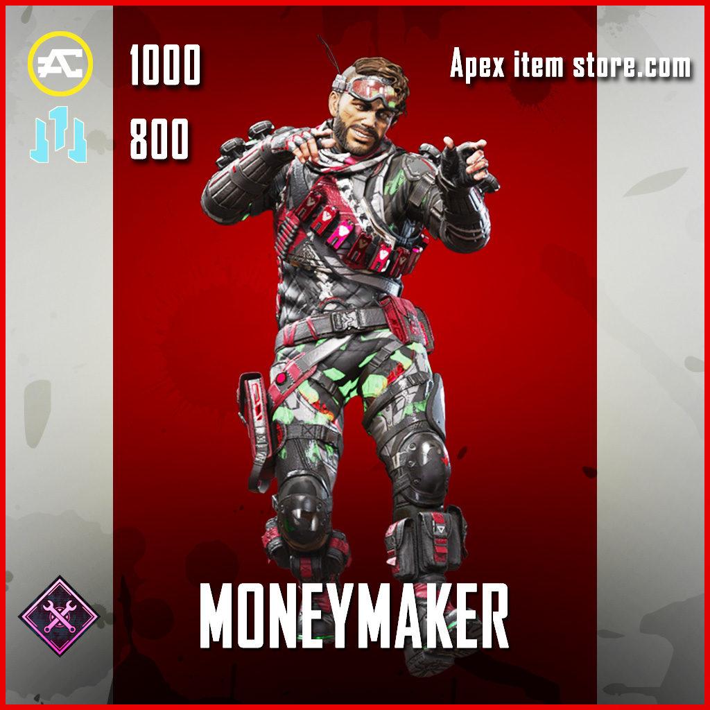 Moneymaker Mirage skin Epic apex legends item