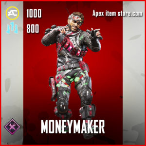 Moneymaker Mirage skin Epic apex legends item