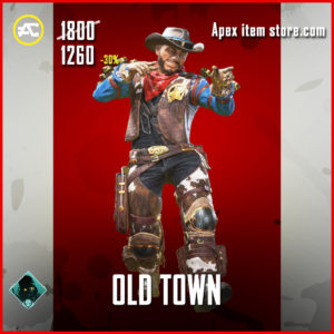 Old Town Mirage apex legends skin