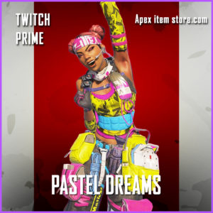 Pastel Dreams Twitch Prime Gaming lifeline apex legends skin